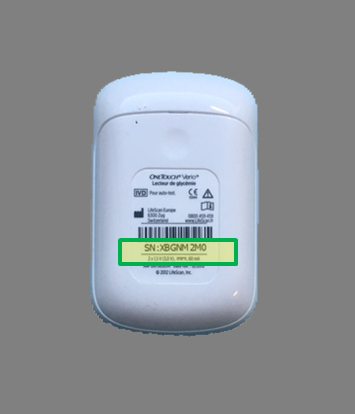 OneTouch Verio® meter